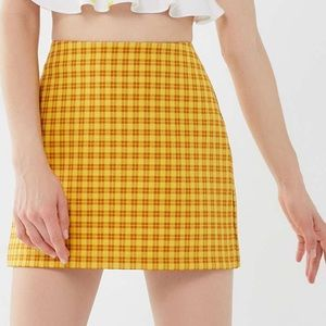 UO Plaid Mini Skirt